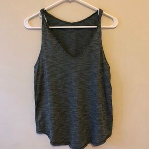 Lulu Lemon Greenish flowy tank